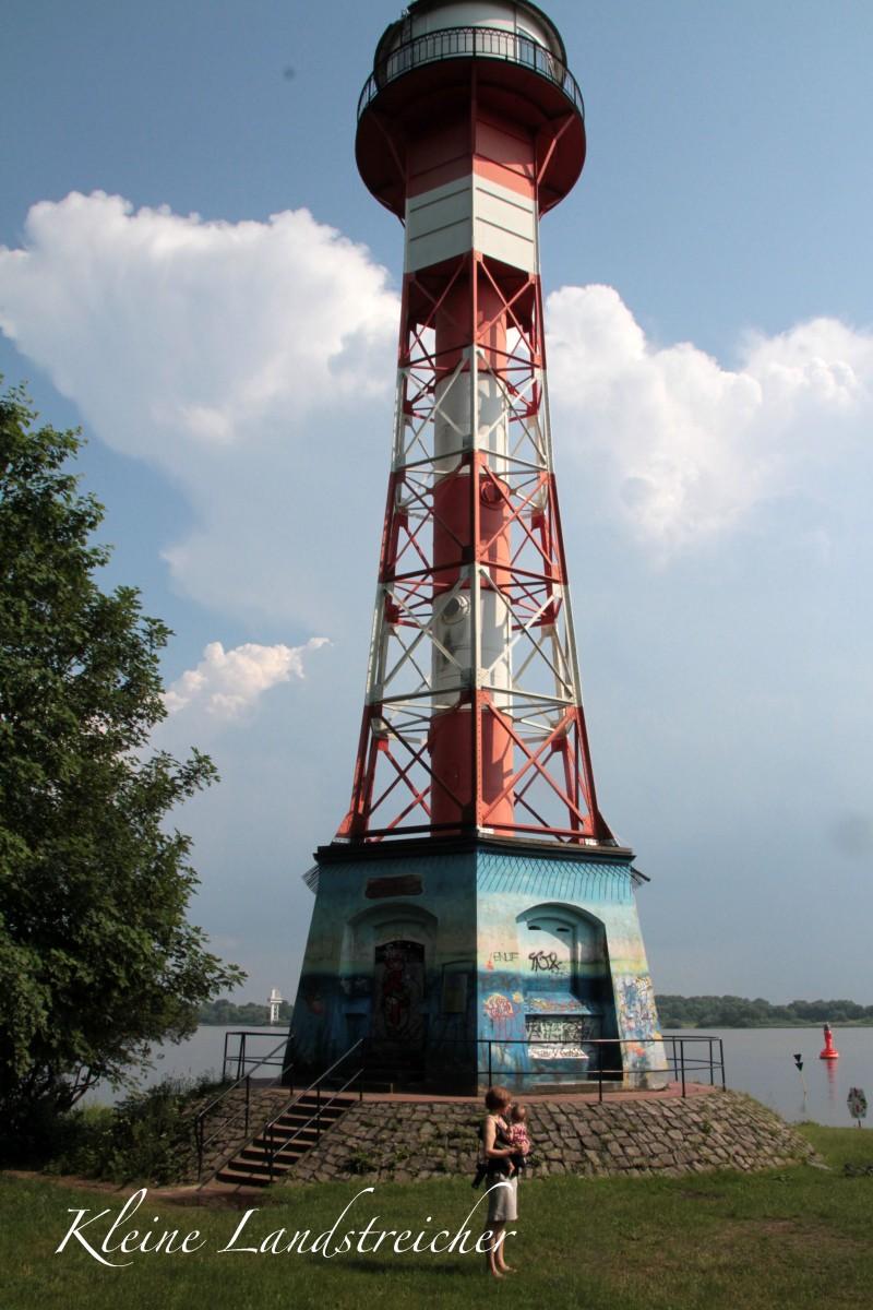 Rissener Leuchtturm (Wittenbergen Unterfeuer)